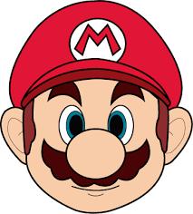 Image Result For Mario Face Template Mario E Luigi Aniversario Super Mario Desenhos Do Mario