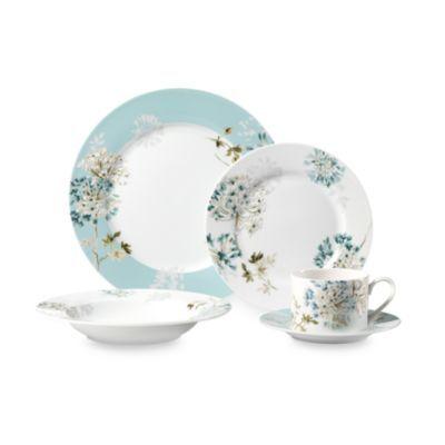 Buy mikasa silk floral teal 5 piece dinnerware set from bed bath buy mikasa silk floral teal 5 piece dinnerware set from bed bath beyond mightylinksfo