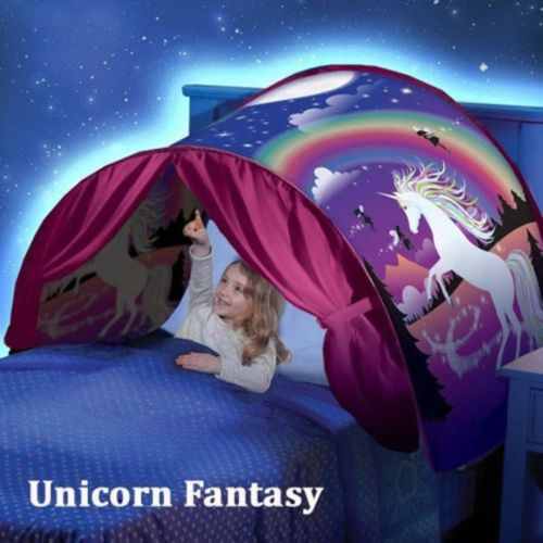Dream Tents Foldable Fantasy Forest Baby Bed Kids Playing Tent Indoor USA Store