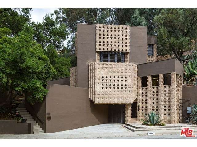 Lloyd Wright S Striking Mayan Inspired Derby House In Glendale
