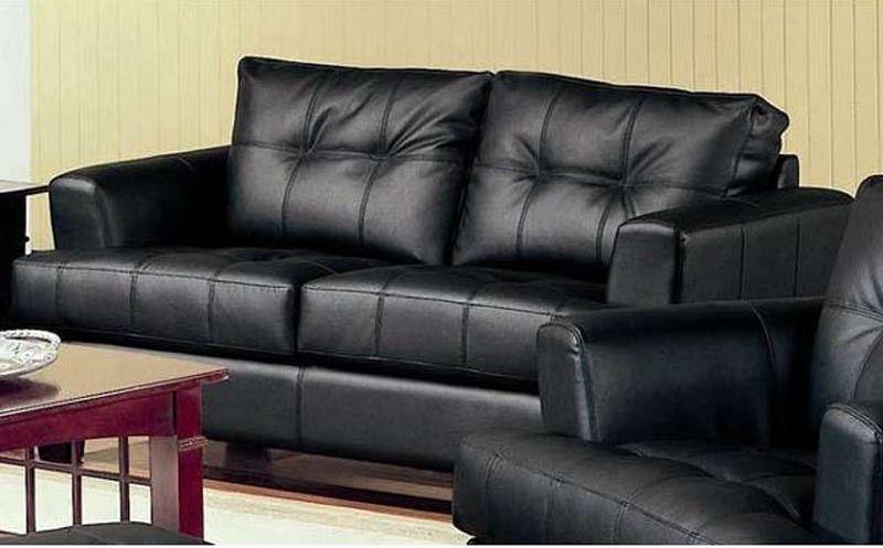 Coaster Furniture Samuel Black Loveseat