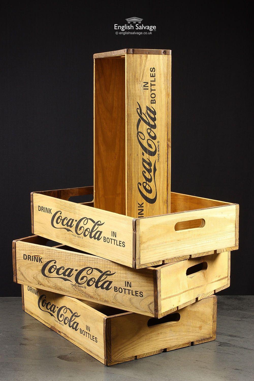New Vintage Style Coca Cola Storage Boxes … | Pinteres…