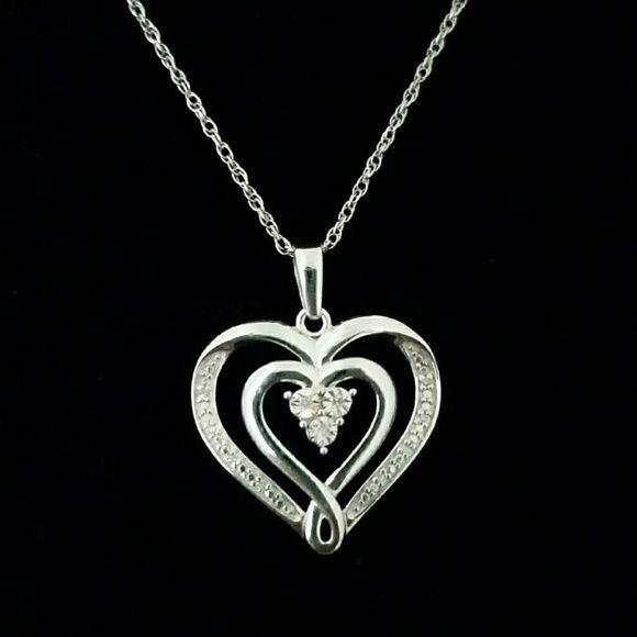 Nwot Kay Jewelers Heart Necklace Kay Jewelers Heart Necklace Necklace Brands