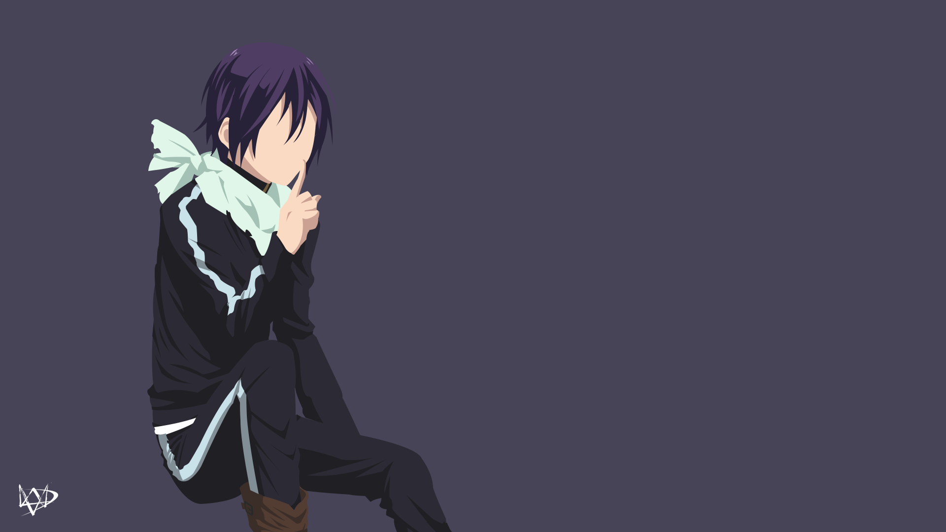 Saitama One Punchman Wallpaper Minimalist Anime By Lucifer012 On Noragami Wallpapers Para Pc Anime