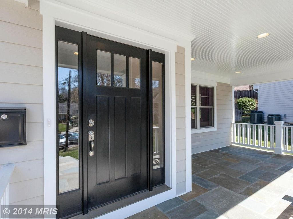 Traditional Front Door With Simpson Craftsman Three Panel Exterior
