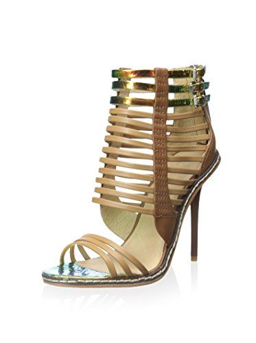 www.myhabit.com  Iridescent detail lends an other-worldly vibe to this strappy rear zip sandal