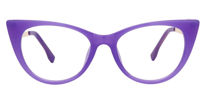 Susanna Cat Eye Purple Glasses Purple Shop By Color Eyeglasses Fashion Eye Glasses Cat Eye Glasses Frames Pink Eyeglasses