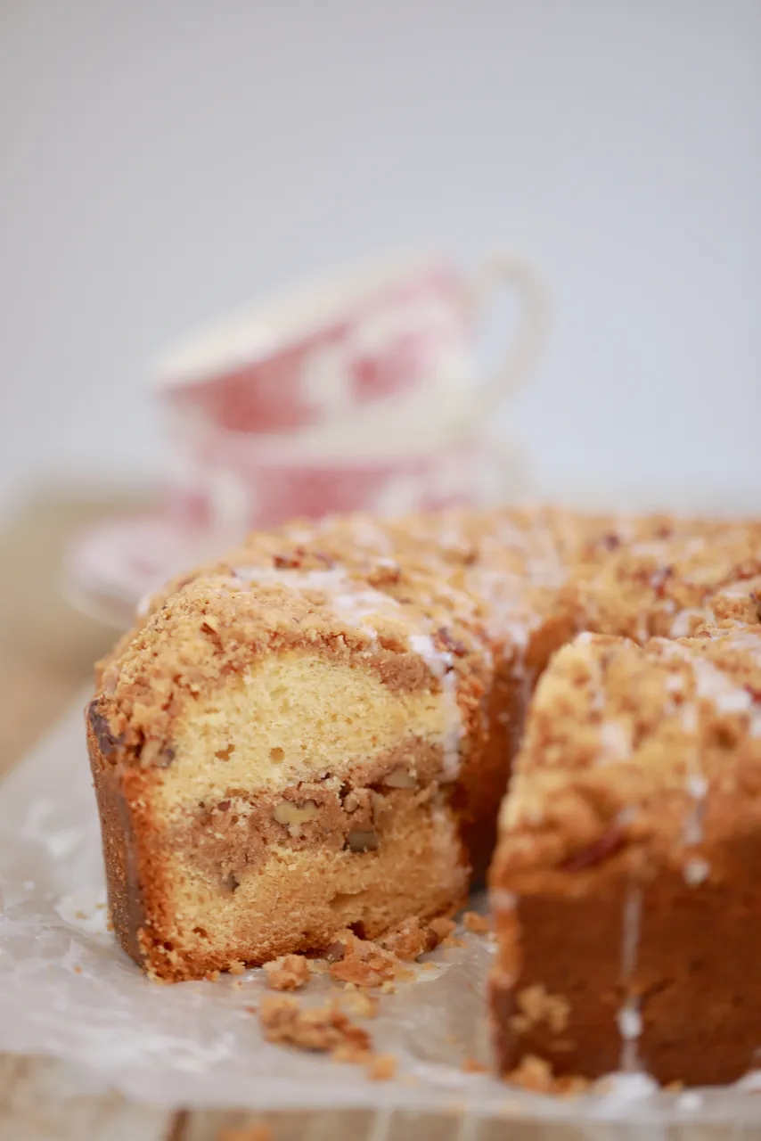 Classic Coffee Cake, made at home. Coffee cake recipes