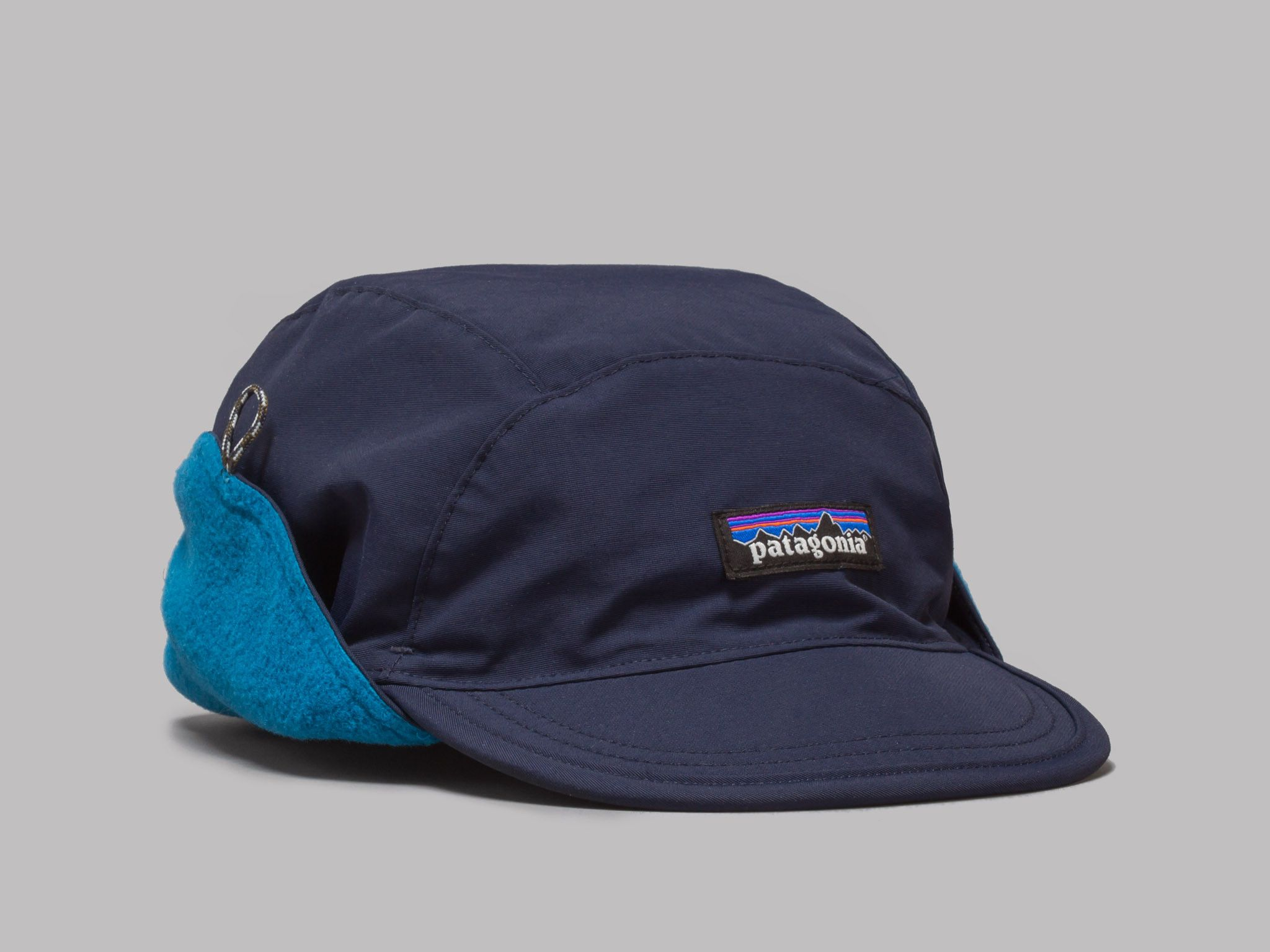 Patagonia Shelled Synchilla Duckbill Cap (Navy Blue)  10e249b102b