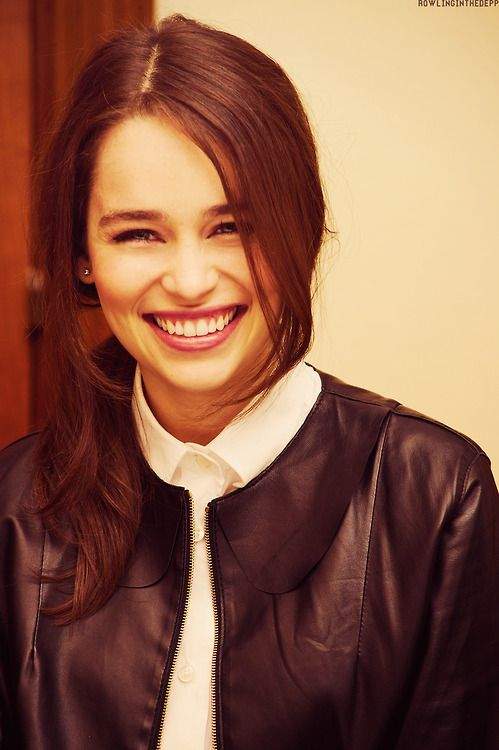 Emilia Clarke- I still think she should have been Ana Steele