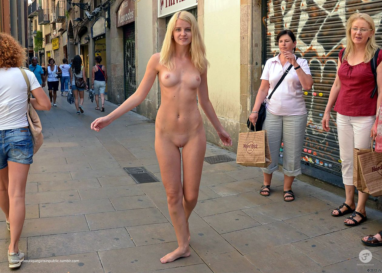 flashing in public