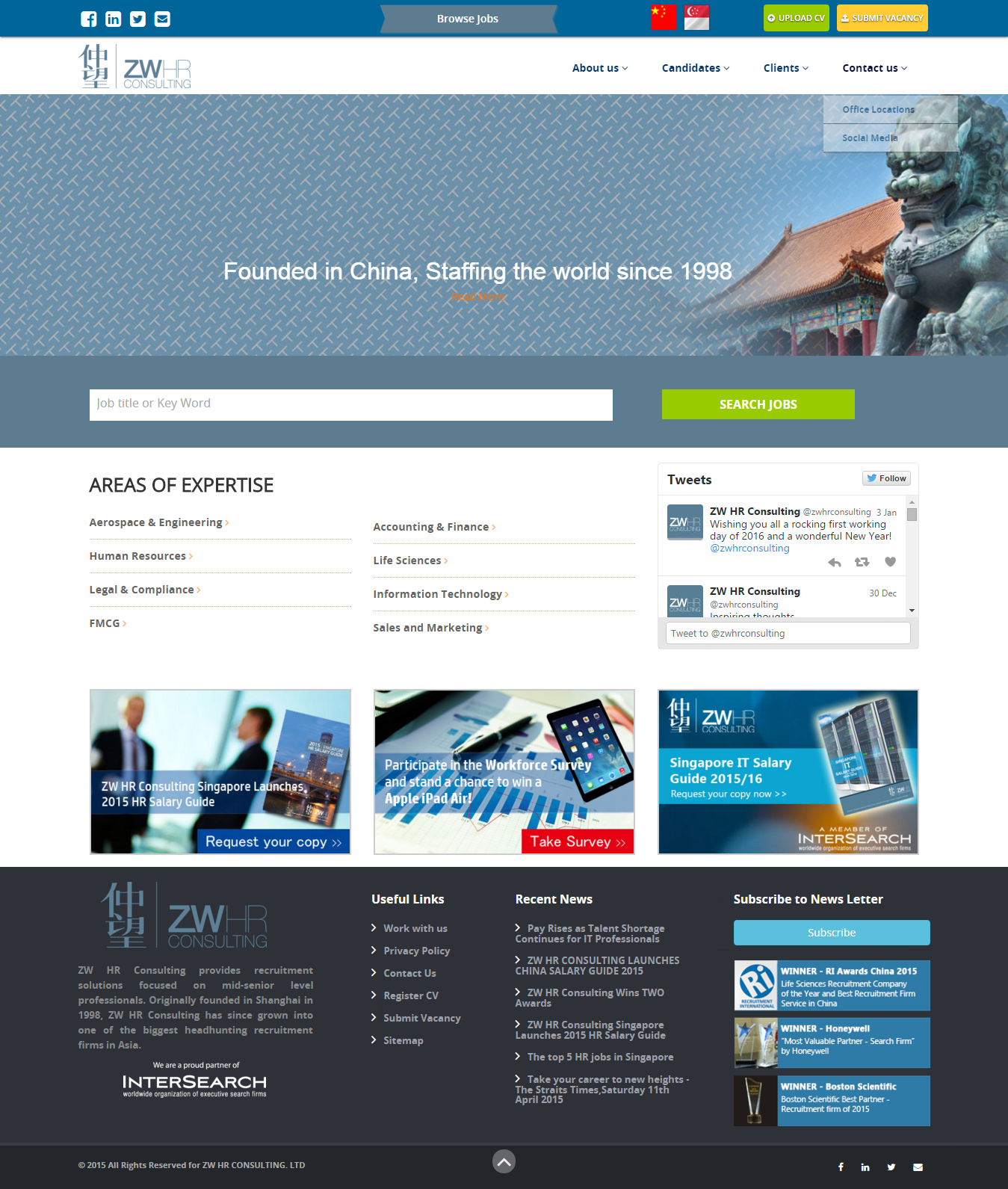 Cool Website Templates Design Proposal For Adecco Singapore