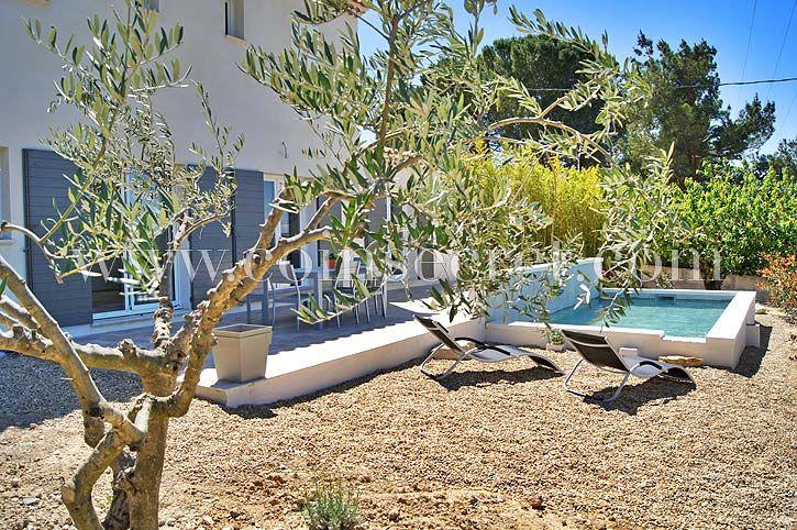 Villa de vacances avec piscine privée - Blauvac Comtat Venaissin - location vacances provence avec piscine