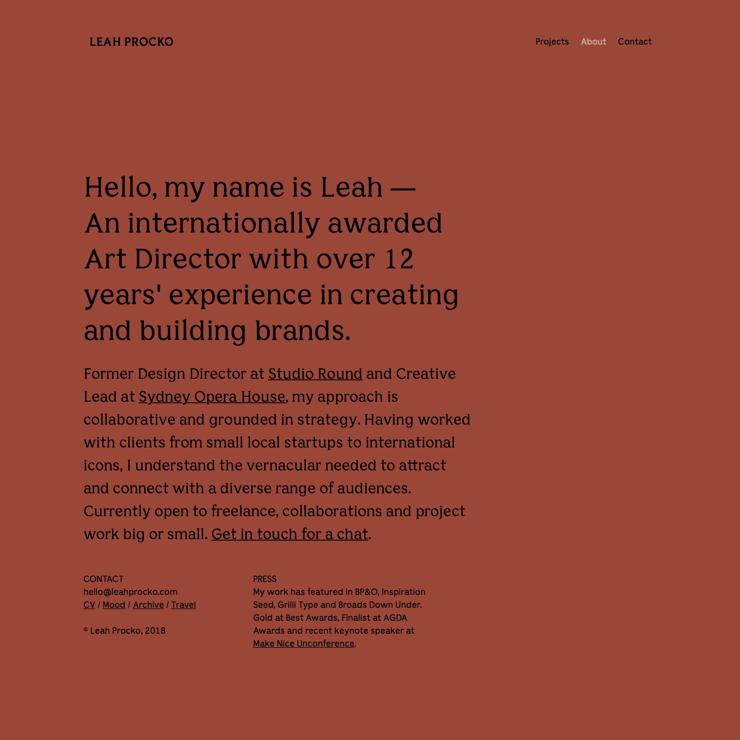 Fonts Used: Bianco Serif and Bianco Sans · Typewolf