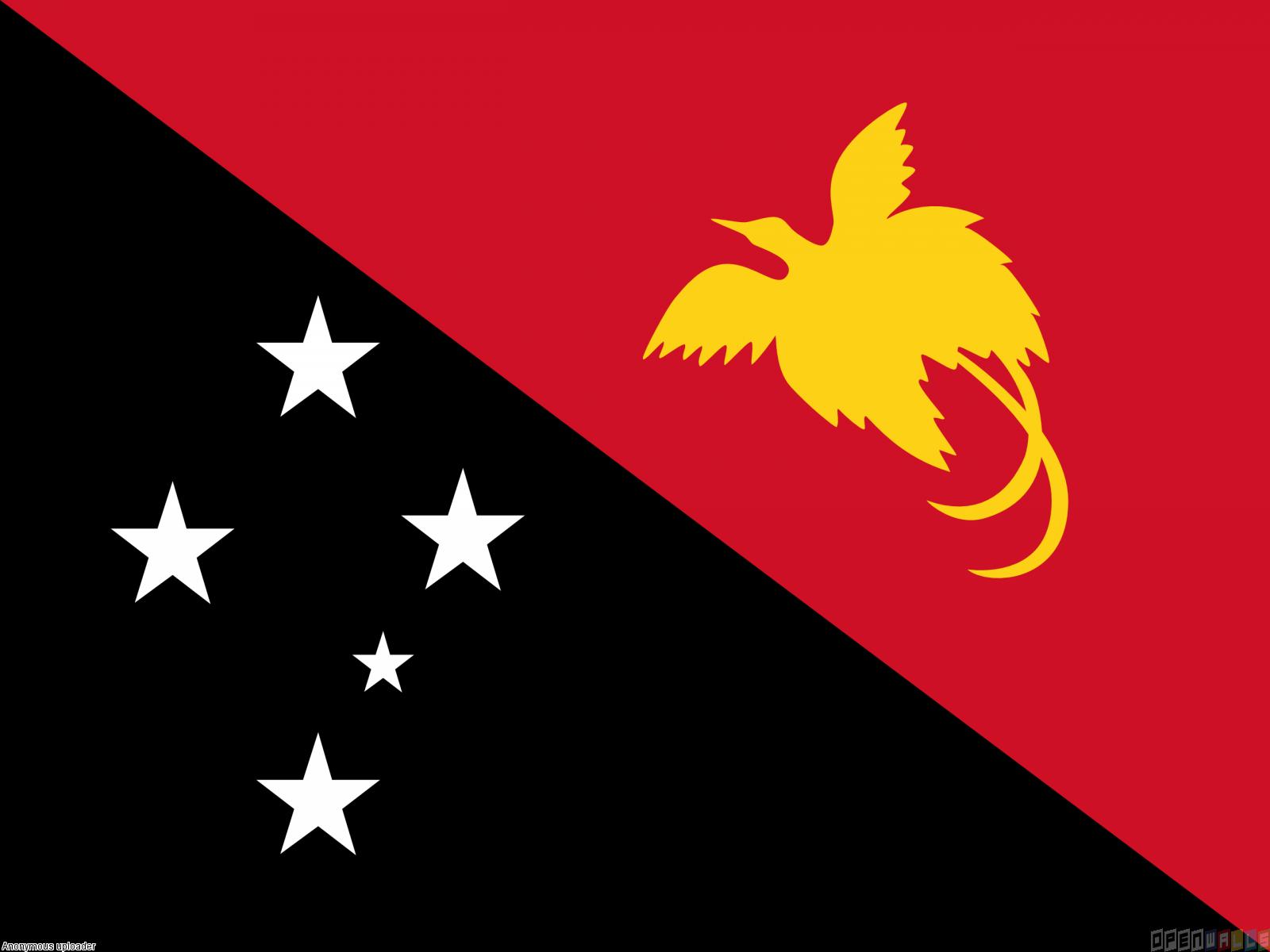 Papua new guinea flag papua new guinea flag wallpaper 20176 explore yellow birds national flag and more sciox Choice Image