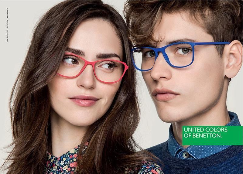 Resultado de imagen de benetton glasses