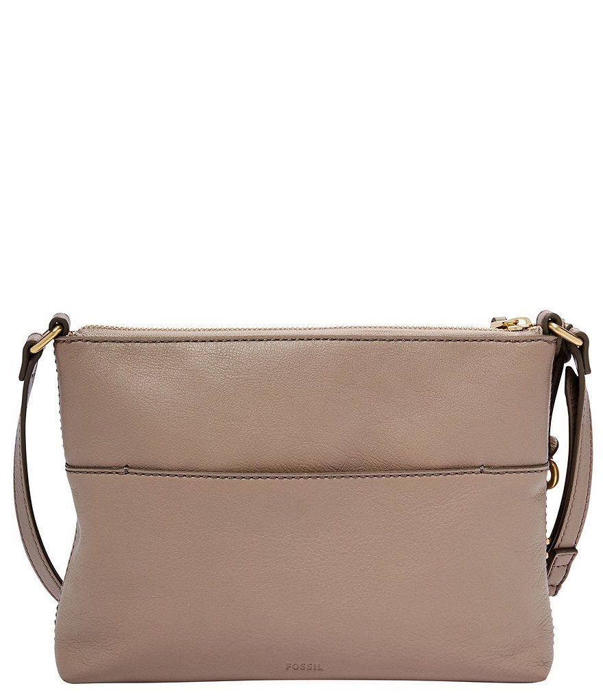 8c5f077d0c Fossil Fiona Small Gold Hardware Cross-Body Bag Small