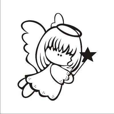 Resultado de imagen de DIBUJO PARA COLOREAR ANGELES | Angels | Angel ...