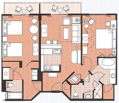 Saratoga Springs Resort 2 Bedroom Villa Saratoga Springs Resort Saratoga Springs Disney Springs Resort And Spa