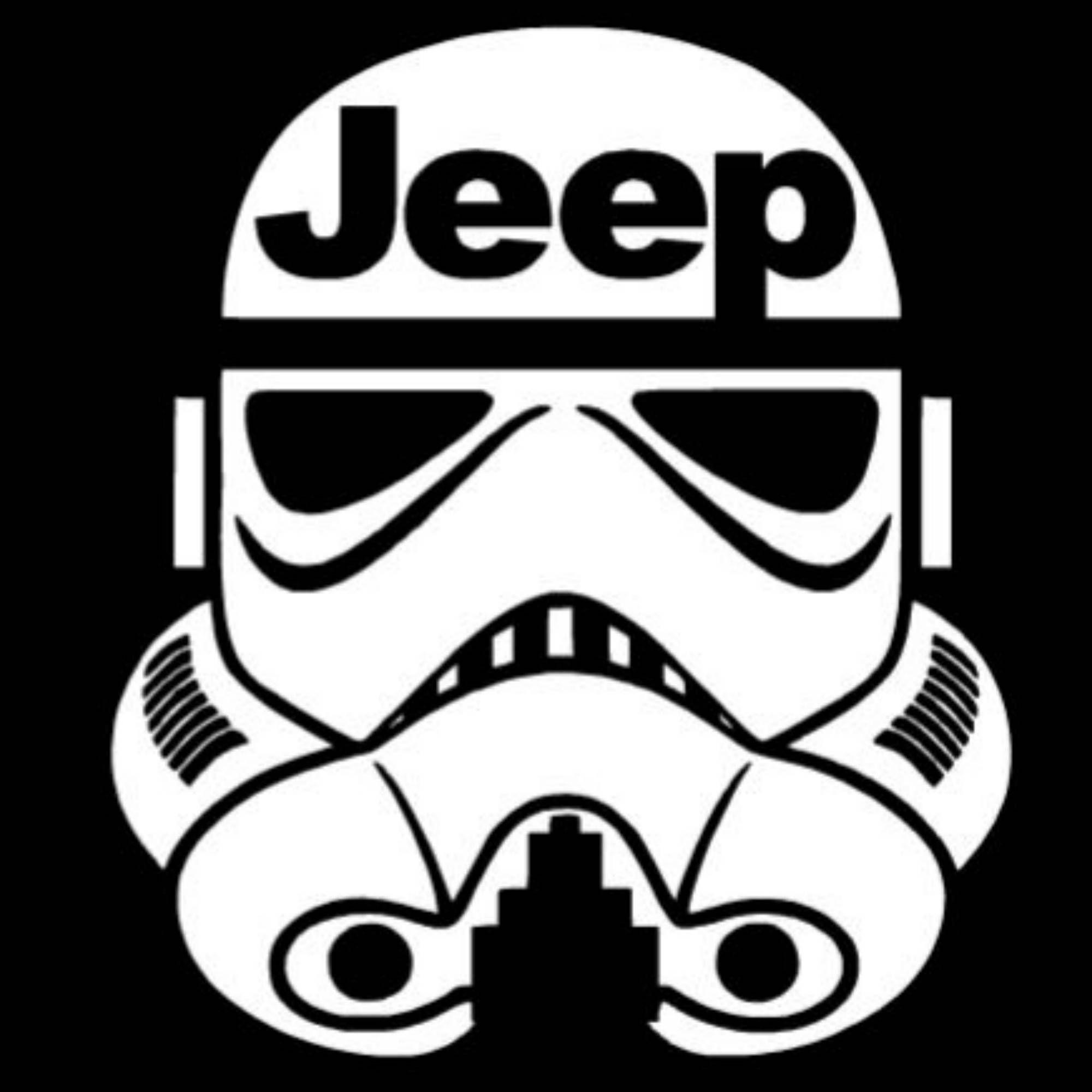 Star Wars Storm Trooper Jeep Decal Renegade Wrangler