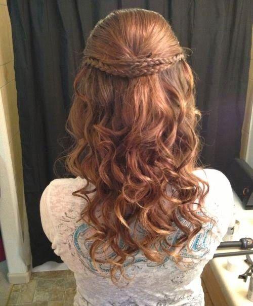 homecoming hairstyles 2015 elegant
