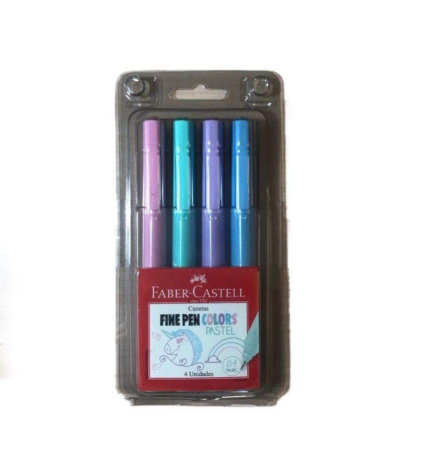 0d1b409f1 Fine Pen Colors Pastel 4 un Faber Castell