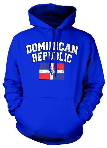 (Cybertela) Dominican Republic Flag Sweatshirt Hoodie Country Pride Hoody (Royal Blue, Medium) Cybertela http://www.amazon.com/dp/B007Z9NEOS/ref=cm_sw_r_pi_dp_AGYXtb1XXTR8A82A