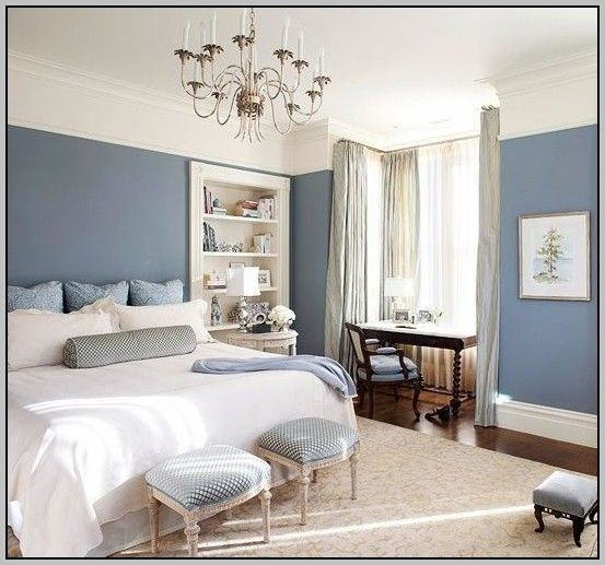 Green Paint Colors Bedroom With Ivory Bunk Bed And Study Table Of Grey Blue  Bedroom Paint Colors (553×517)