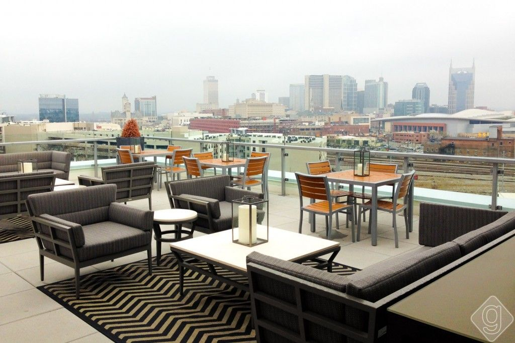 The Best Patios in Nashville Rooftop lounge, Patio, Best