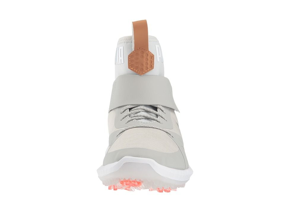 e2daa22e15f547 PUMA Golf Ignite Power Adapt Hi-Top Jr (Little Kid Big Kid) Men s Golf  Shoes Gray Violet Puma Silver