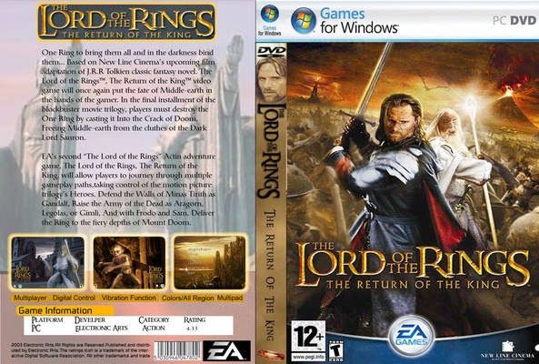 lord of the rings return of the king pc game free download full version