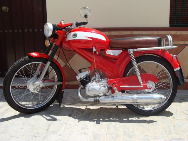 Derbi 49 Cc Antorcha Classic Bikes Moto Bike Motorcycle Bike