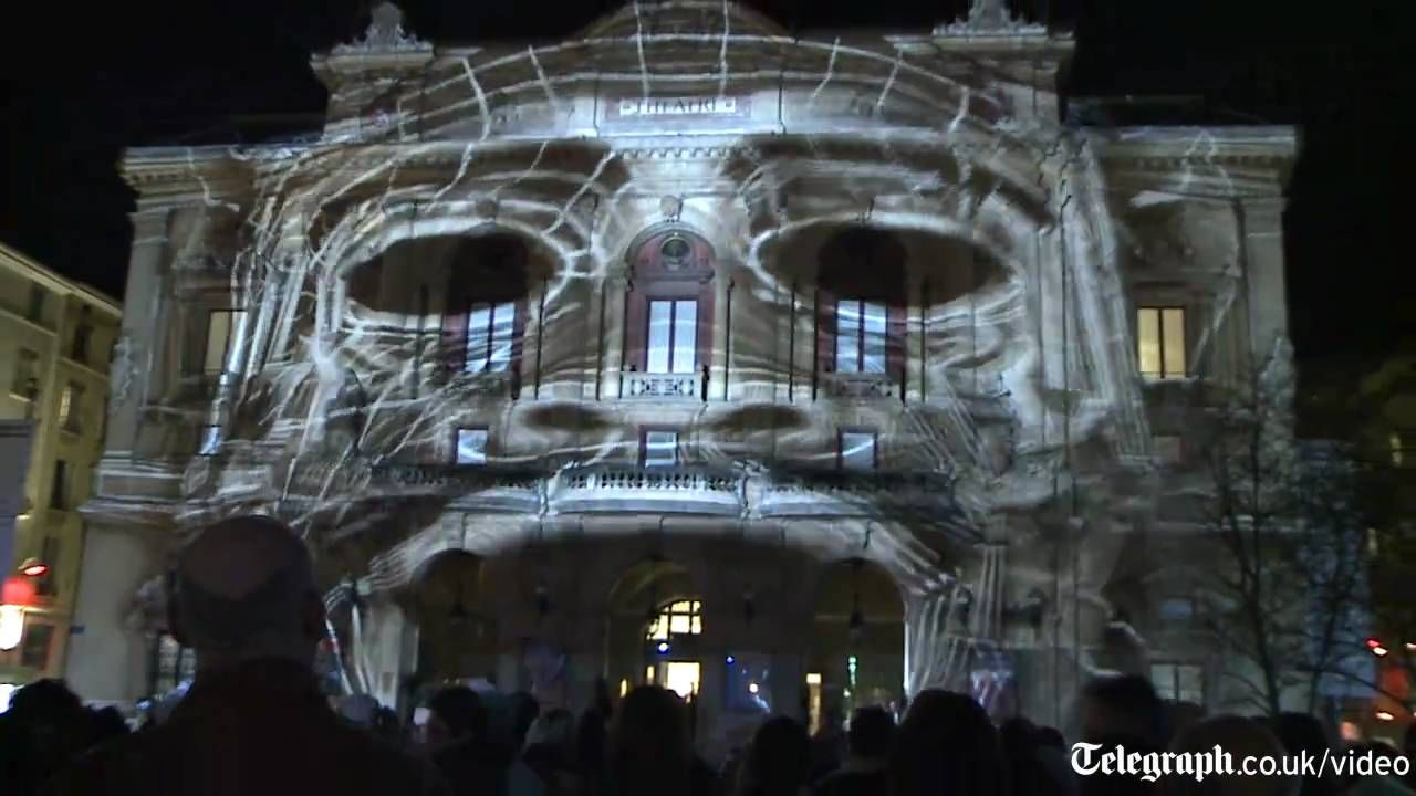 Amazing D Projection Mapped On Building Activate Me Pinterest - Projection mapping turns chapel into stunning work of contemporary art