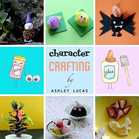 Kids Craft Book Pdf Download 24 Adorable Kawaii By Ladylucasstore