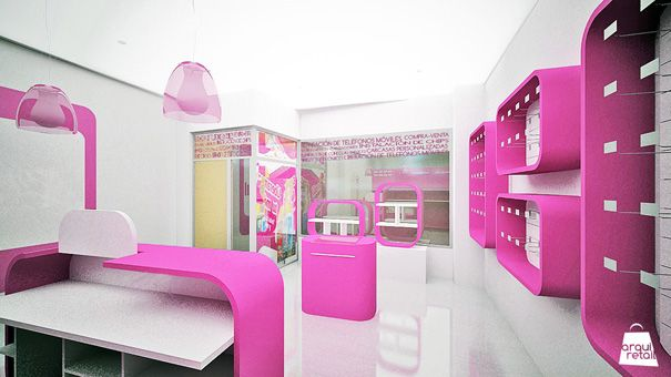 Tienda de telefon a e inform tica pinterest for Diseno arquitectonico informatica