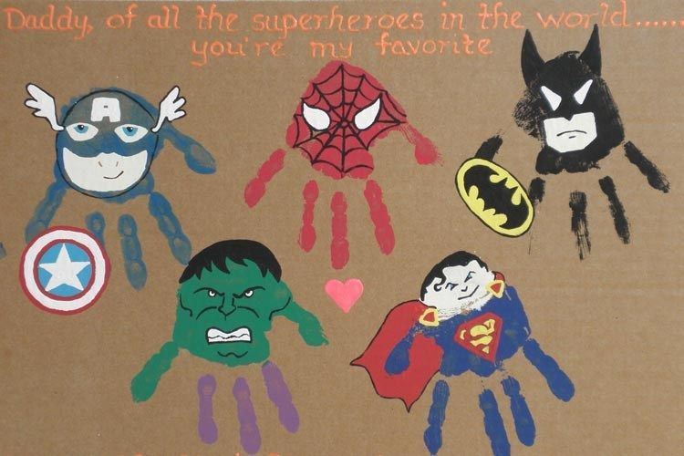 5 Simple DIY Superhero Ideas to Make This Father's Day One of a Kind #superherocrafts