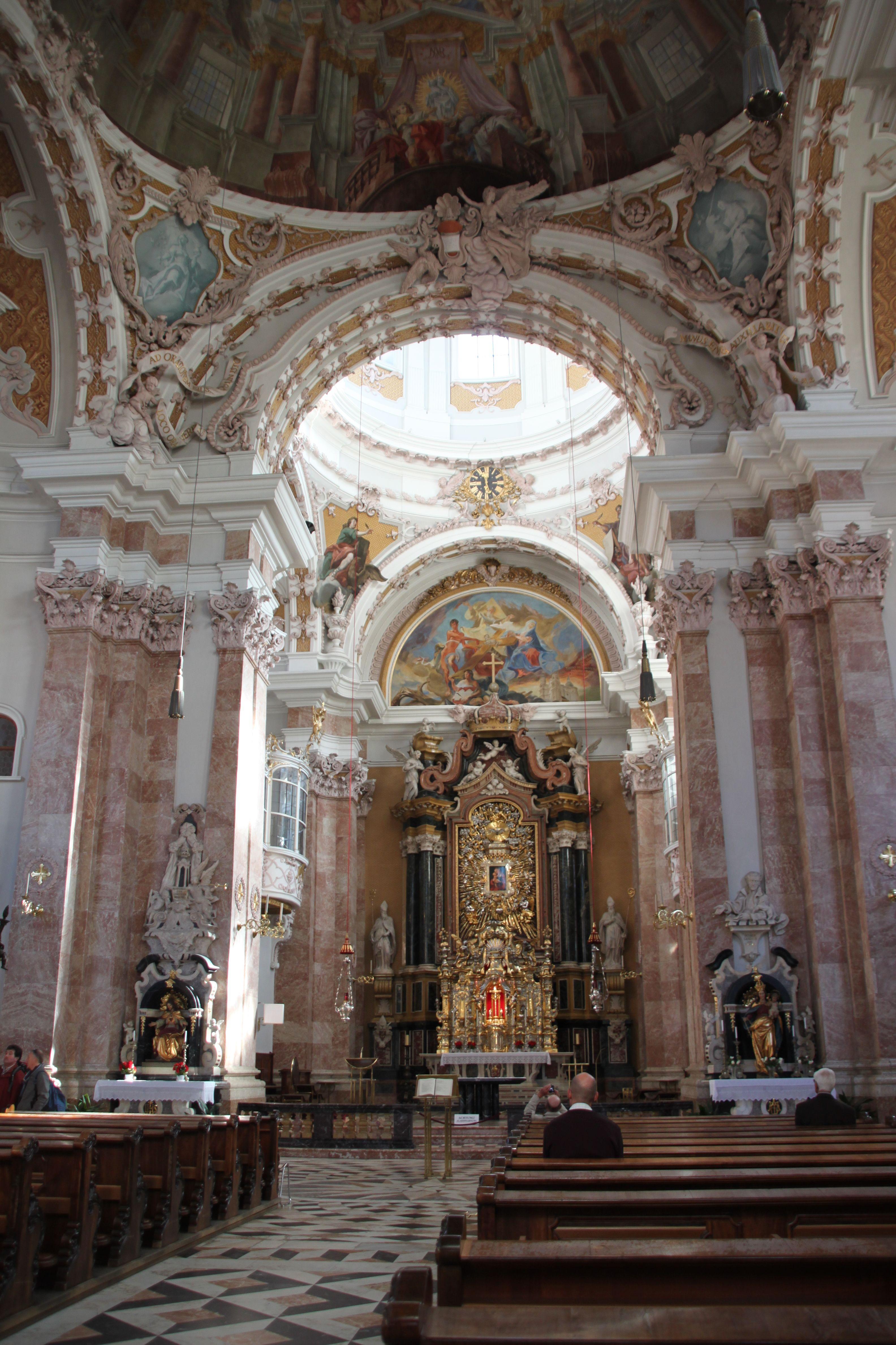 Innsbruck dom st jakob 218 architecture church for Interior design innsbruck