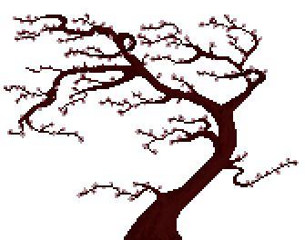 The Cherry Blossom Tree Japanese Cherry Tree Tree Silhouette