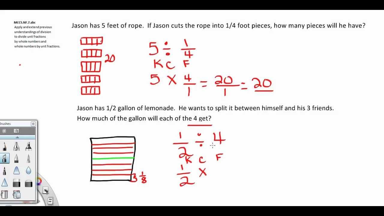 video dividing fractions 5th grade common core rebecca sims fraction madness dividing. Black Bedroom Furniture Sets. Home Design Ideas