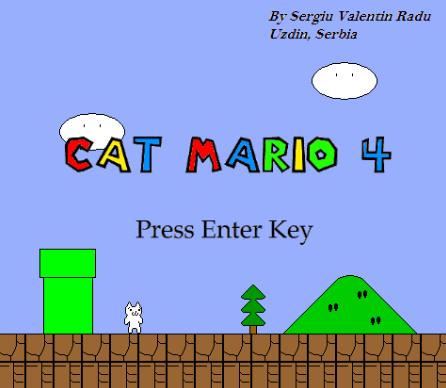 скачать игру cat mario 4