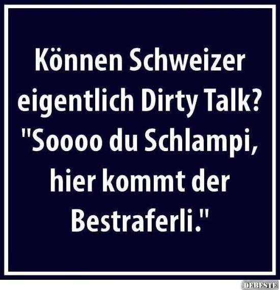 schweizer sprüche lustig