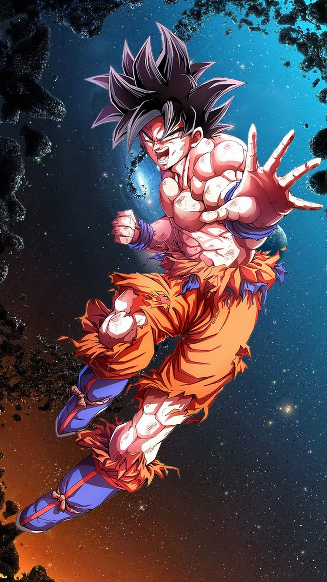 Goku Mastered Ultra Instinct Wallpaper 8k