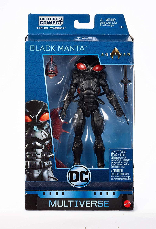 Dc comics multiverse aquamanblack manta figure