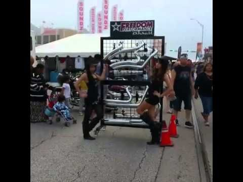 Chilling at Freedom Performance Exhaust at the Lone Star Rally in