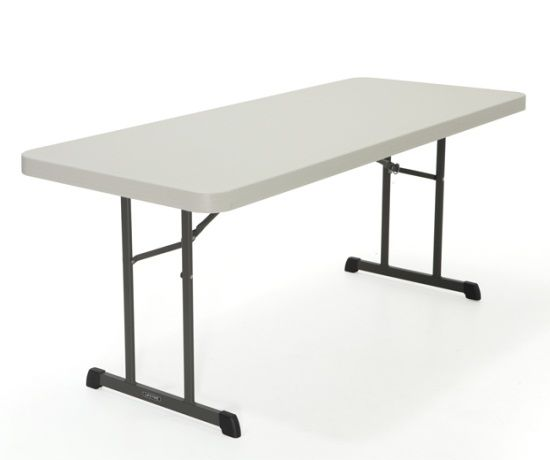 Lifetime Professional Grade Folding Table 80249 6 Foot Single Pack