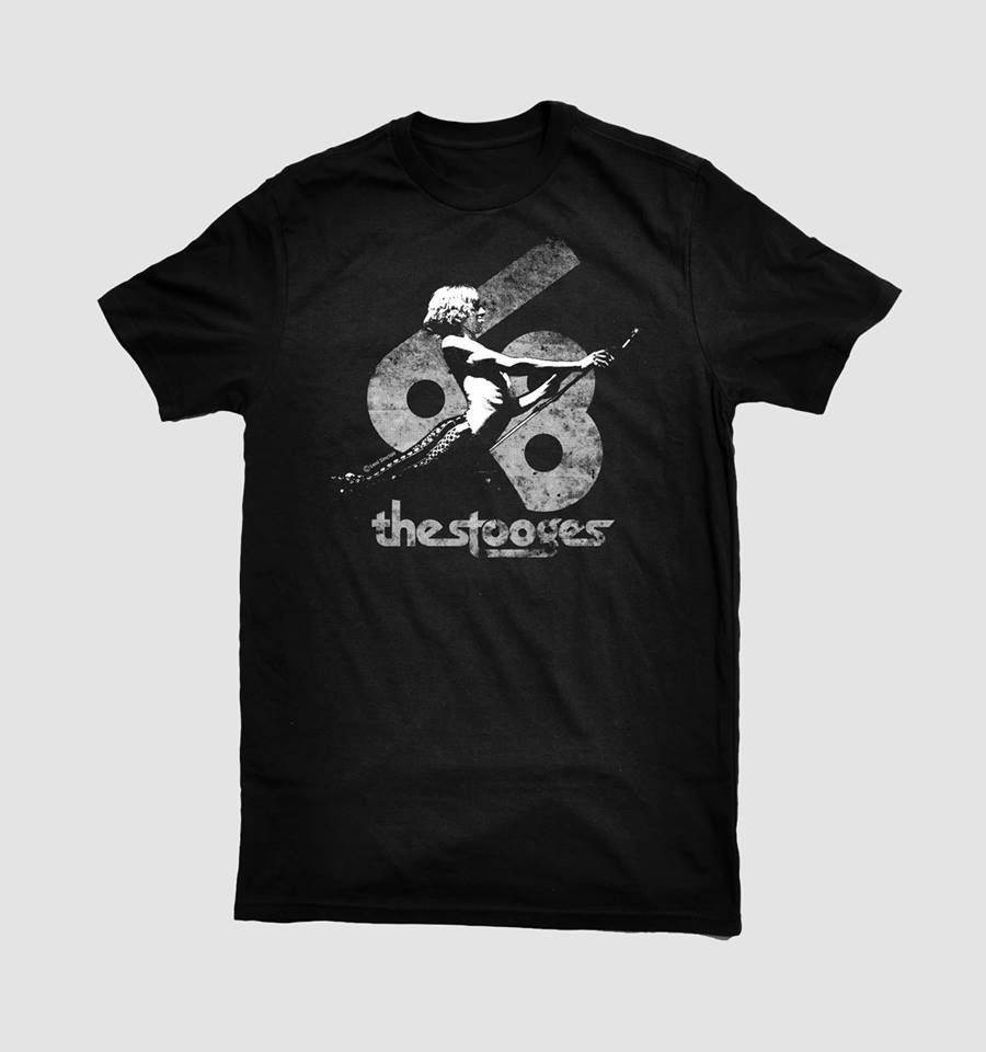 The Stooges IGGY POP 1968 GRANDE BALLROOM  1968  T-Shirt