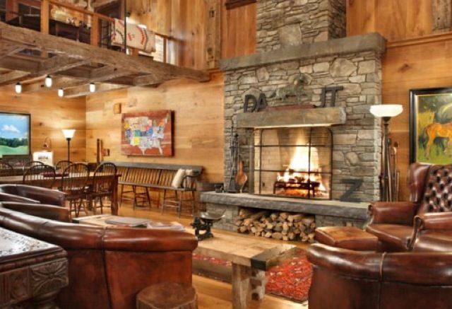 Gorgeous room & fireplace