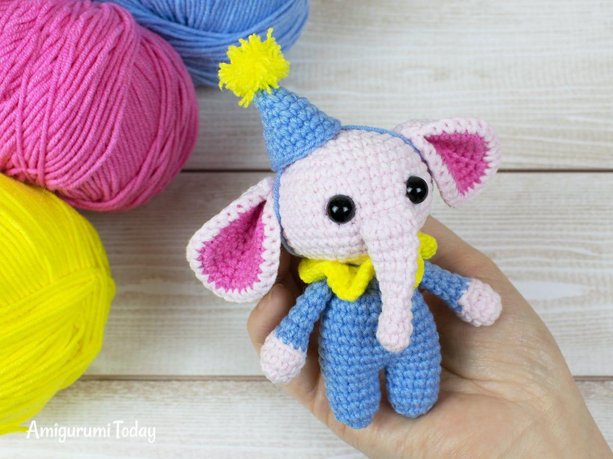 Free Crochet Elephant Patterns - Amigurumi Patterns ⋆ DIY Make To | 900x1200