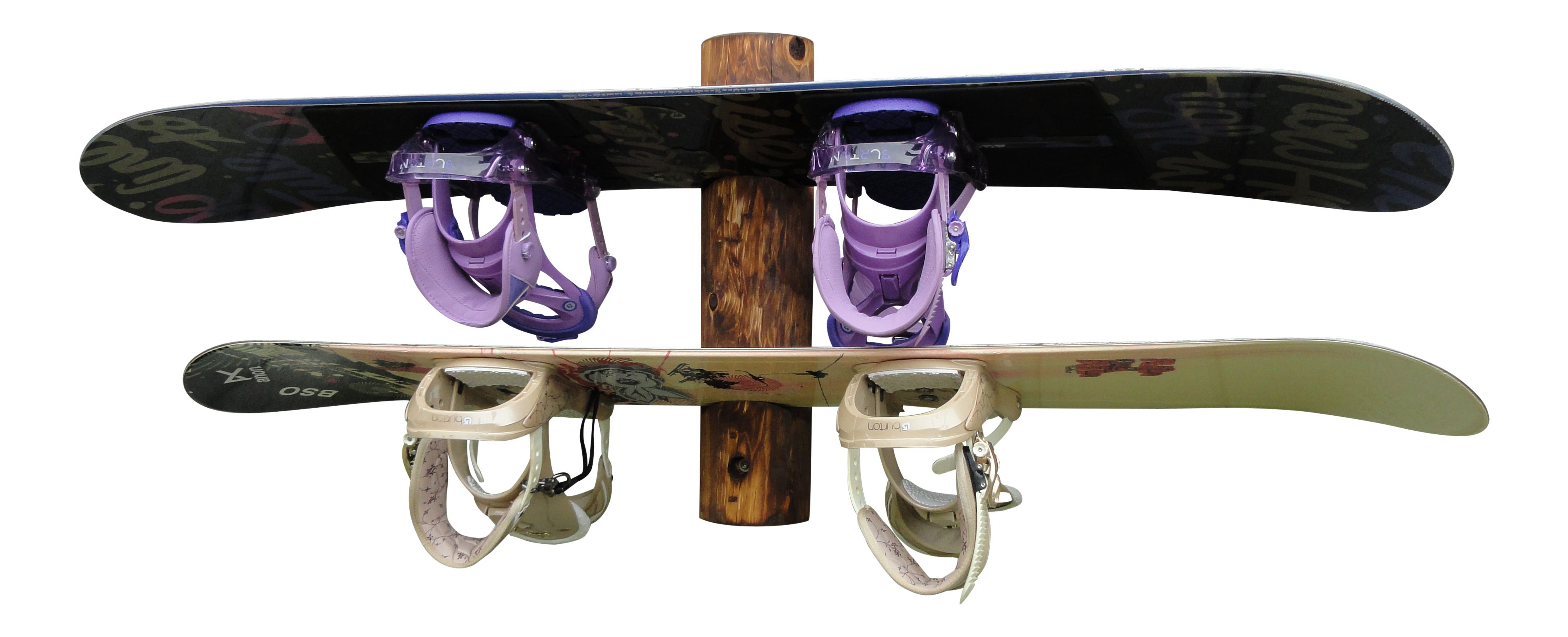2place snowboard wall rack wakeboarding snowboard