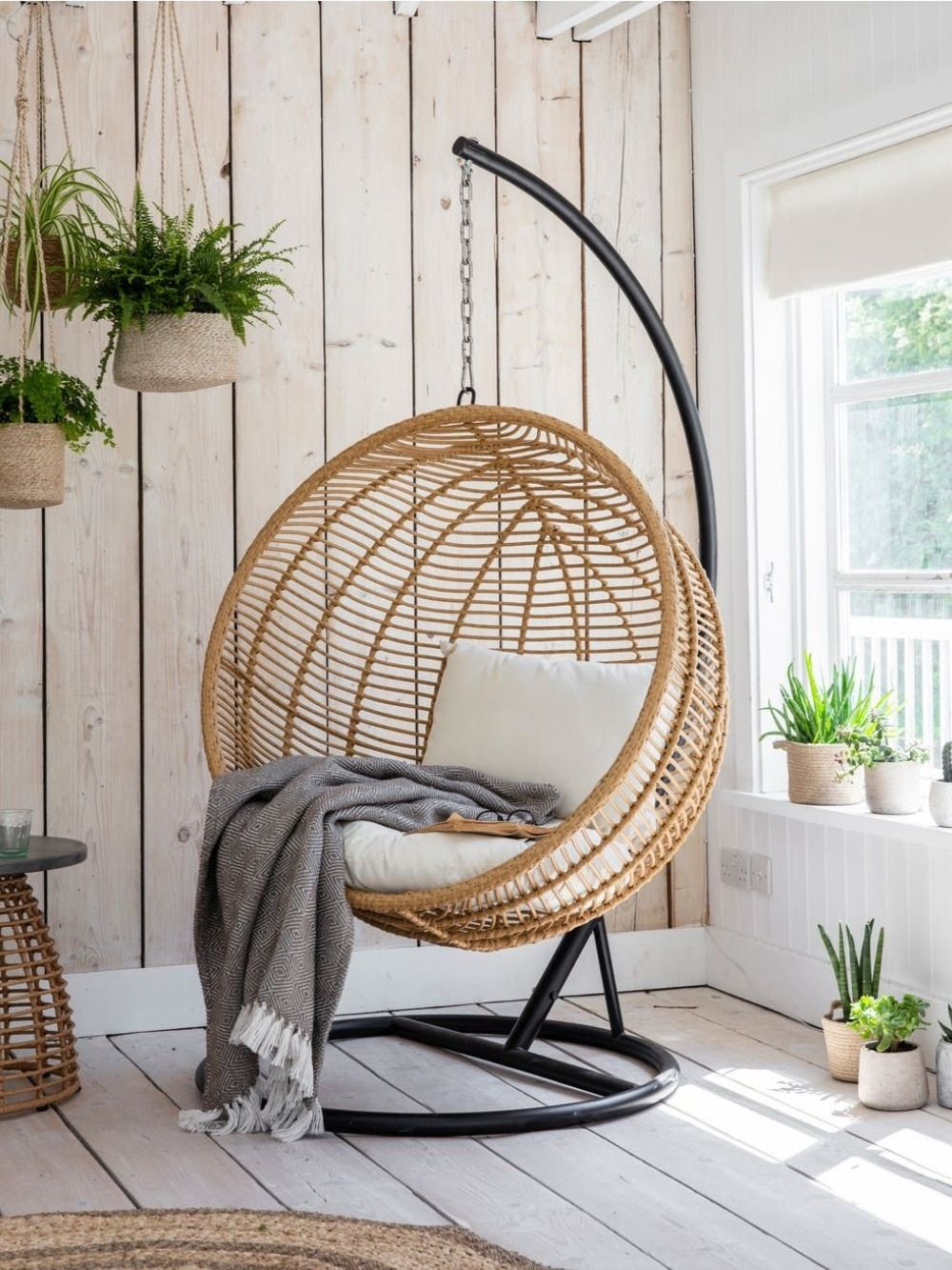 7 Luxury Hanging Egg Chairs You Ll Want To Lounge In Forever In 2020 Hanging Egg Chair Nest Chair Indoor Chairs